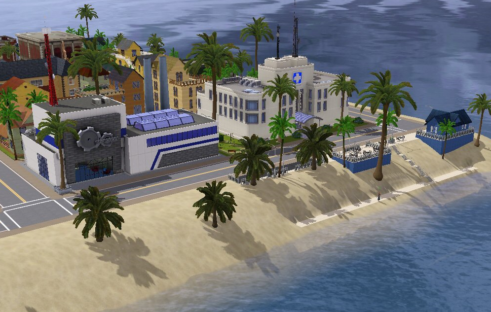 My Sims 3 Blog: Island Living by Deb