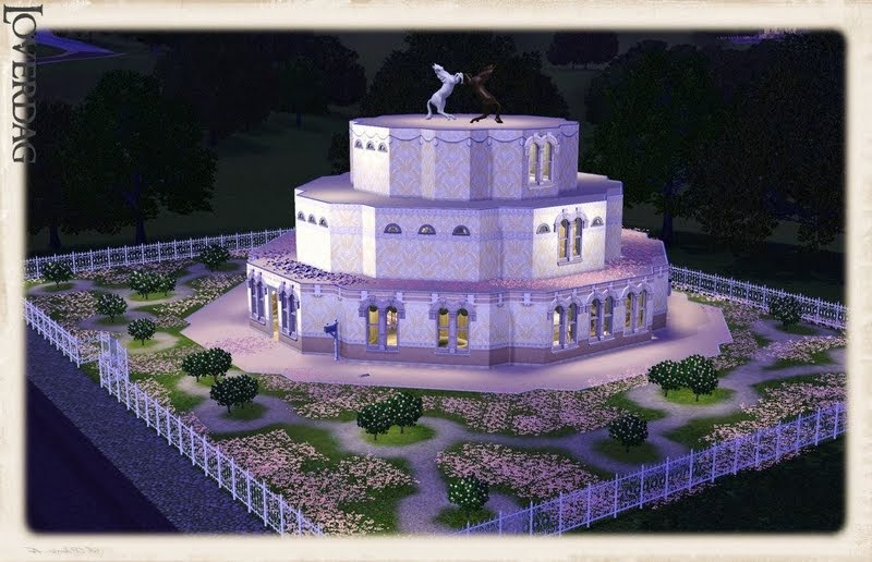 where is the wedding cake in sims 3 generations my sims 3 the wedding cake residential lot 27146