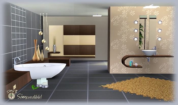 My Sims 3 Blog Distant Vapour  Bathroom Set By