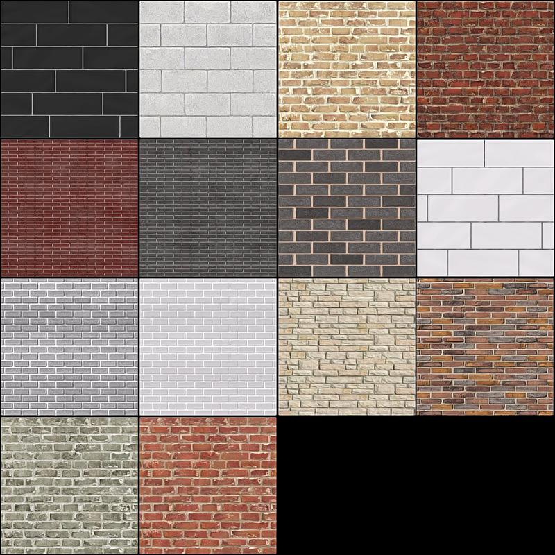 My Sims 3 Blog: Sims 2 Brick Walls by kissme87 Sims 1 Walls
