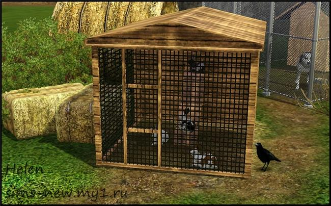 My Sims 3 Blog Rabbits And Cage By Helen