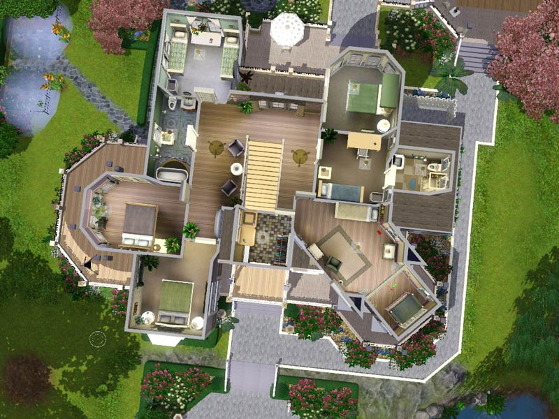 My Sims 3 Blog: Wisteria Hill: a grand Victorian estate by ...