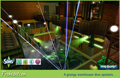 my sims 3 blog prohibition dance club by flem shtinky. Black Bedroom Furniture Sets. Home Design Ideas