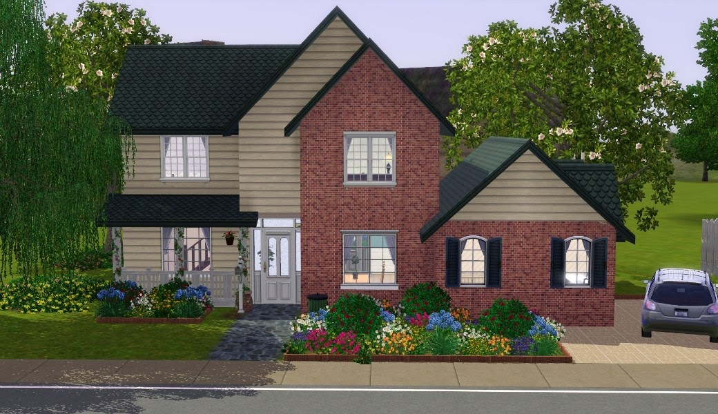 My Sims 3 Blog The Suburban House Part I By Nikkicornelisse