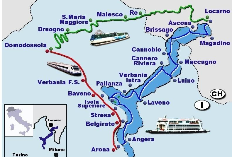 map of lake maggiore towns Stresa Sights By Stresa Apartments A Sample Four Day Two Lake map of lake maggiore towns