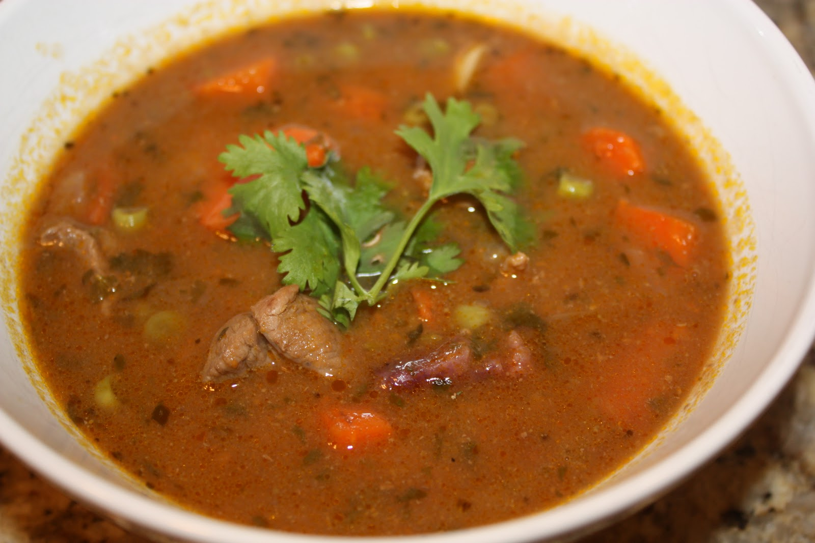 Chow and Chatter: Beef and Vegetable Soup