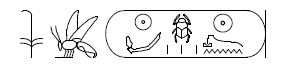 Cartouche of Horemheb