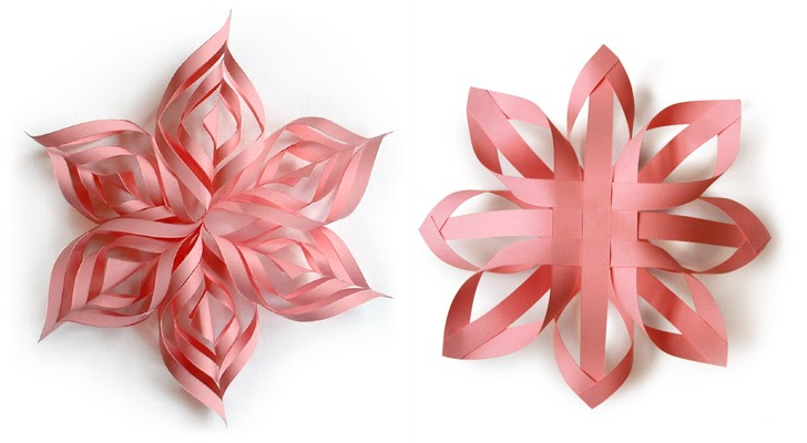 how to make 25 paper christmas ornaments how about orange - How To Make 3d Christmas Decorations