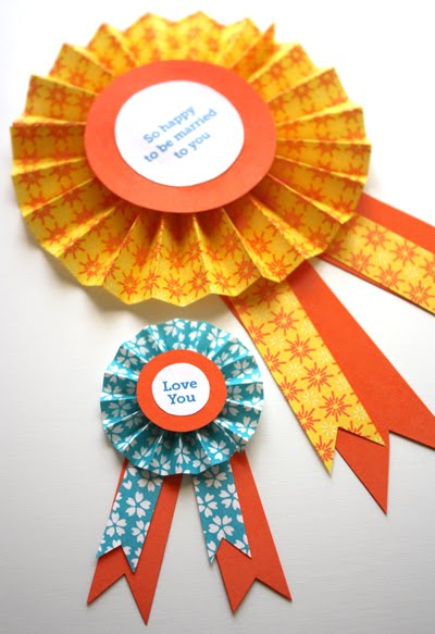1st prize ribbon template - diy paper medallions how about orange