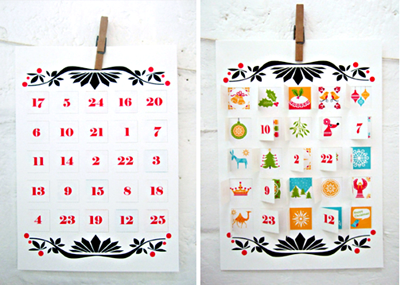 photograph relating to Printable Advent Calendar known as Printable introduction calendar How More than Orange