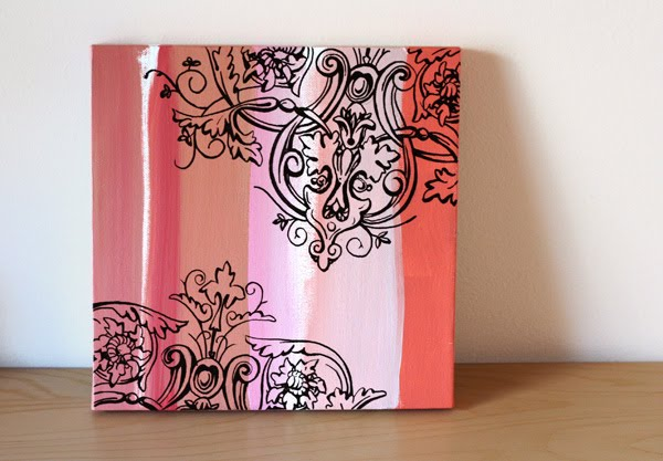 How To Make Wall Art With Paint Pens How About Orange