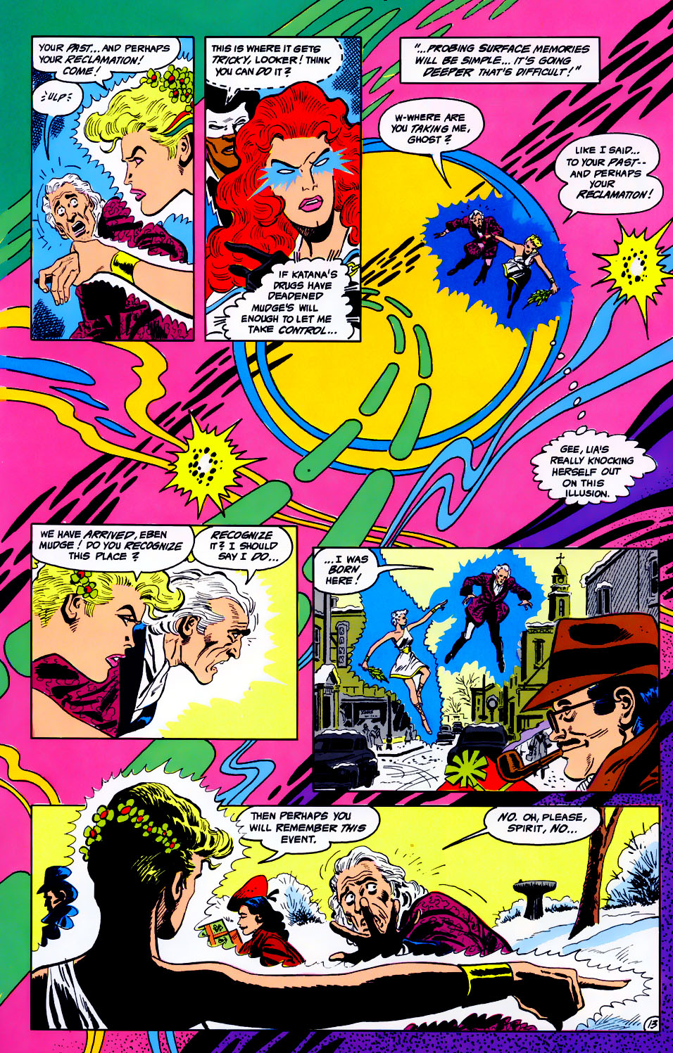 Read online Adventures of the Outsiders comic -  Issue #43 - 14