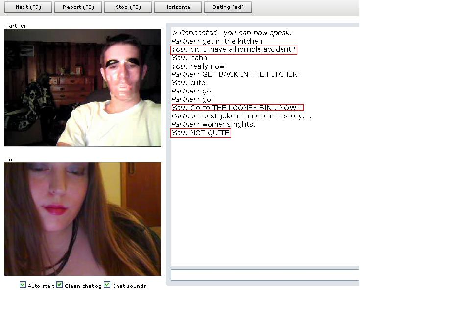 Different breast size chatroulette