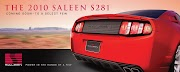 2010 Saleen to be Shown At SEMA