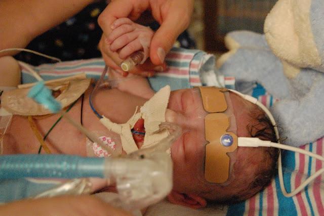 Bennett Gamel after birth