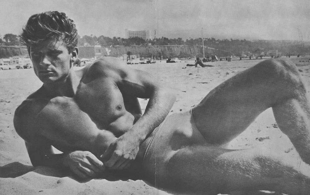Consider, handsome male models nude on beachs