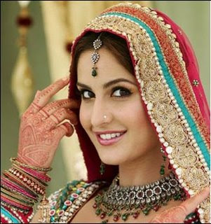 katrina kaif in a wedding dress