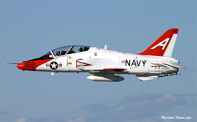 T-45 Goshawk da US. Navy se acidenta
