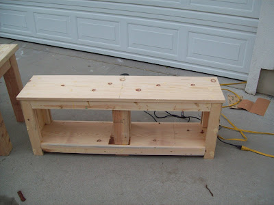 Working Project Entry Bench Woodworking Plans