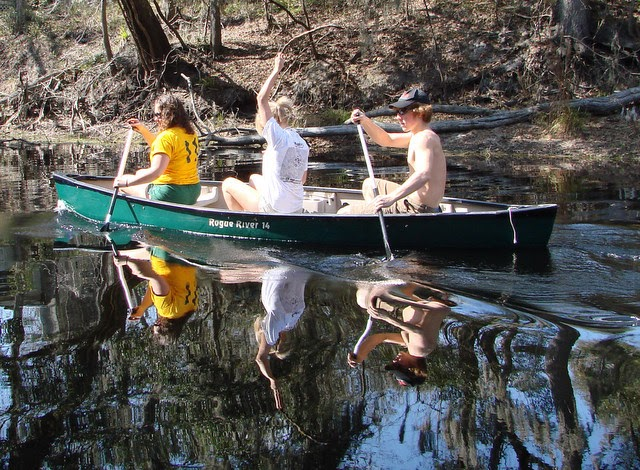 PURE FLORIDA: Canoeing The Santa Fe River Canoe Trail
