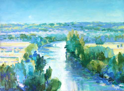 Warm Cool Colours In Painting Painting Holidays In Chateaux In Dordogne And Provence France Provence 2021