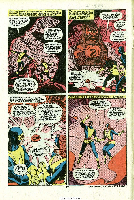 Read online Uncanny X-Men (1963) comic -  Issue #81 - 14