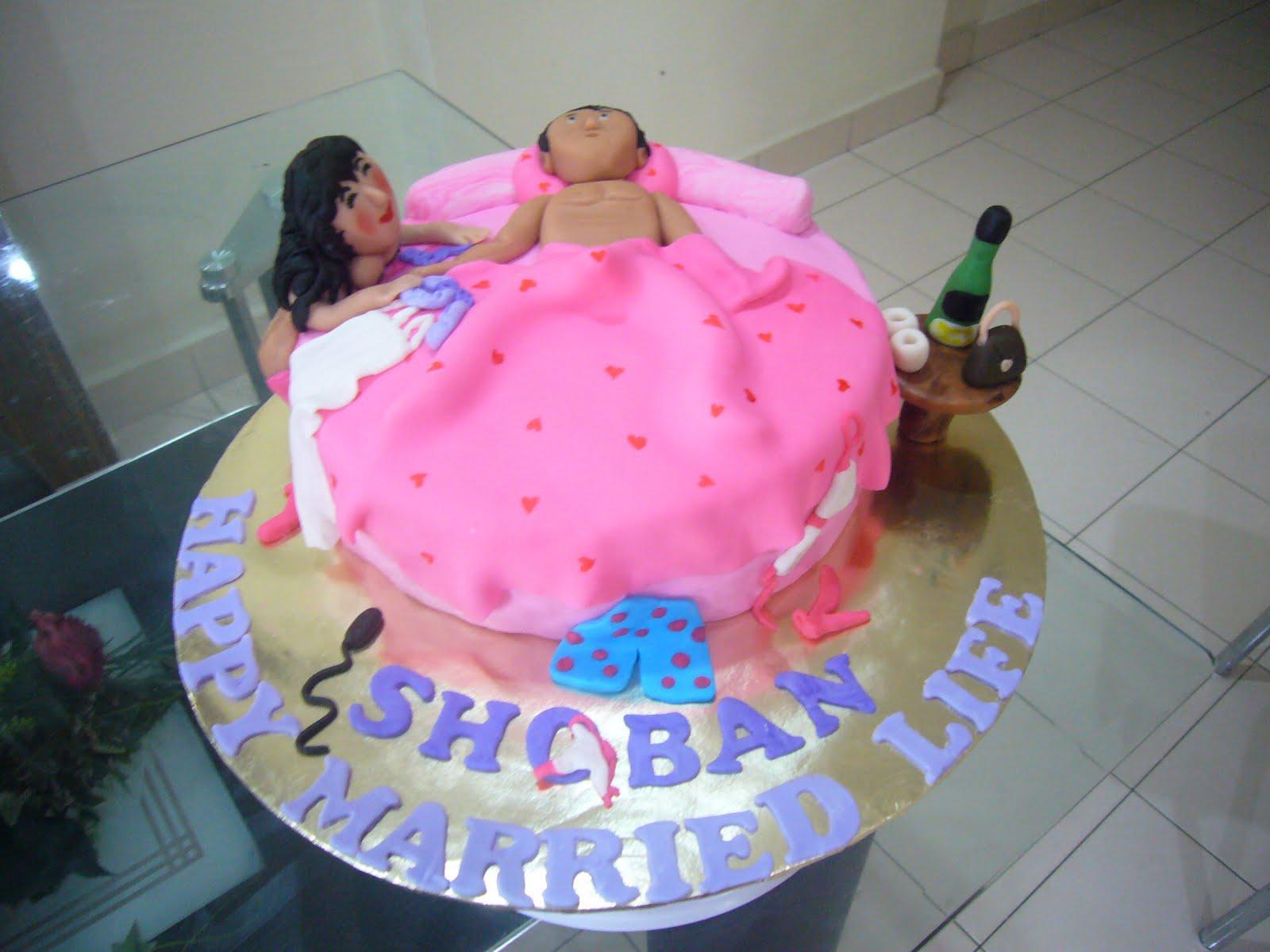 SIMPLY DELICIOUS CAKES NAUGHTY CAKE  SEDUCTION
