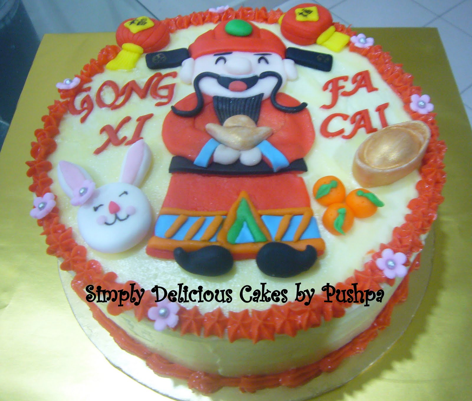 chinese new year cake simply delicious cakes new year cakes 2011 year 2792