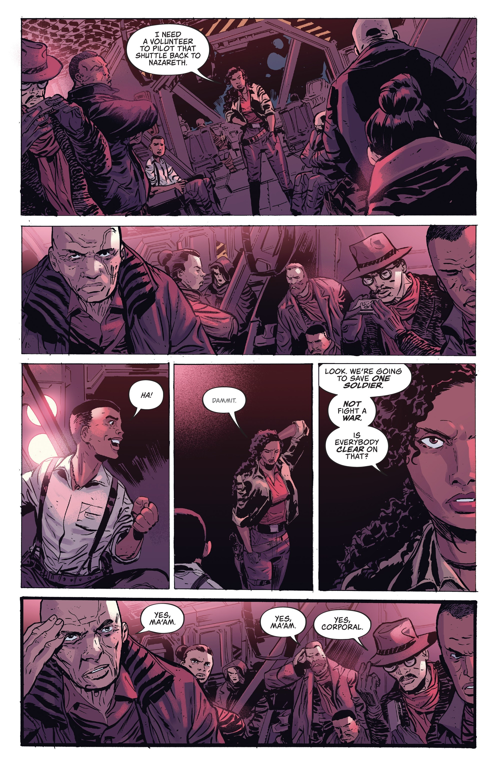 Read online Firefly comic -  Issue #7 - 17