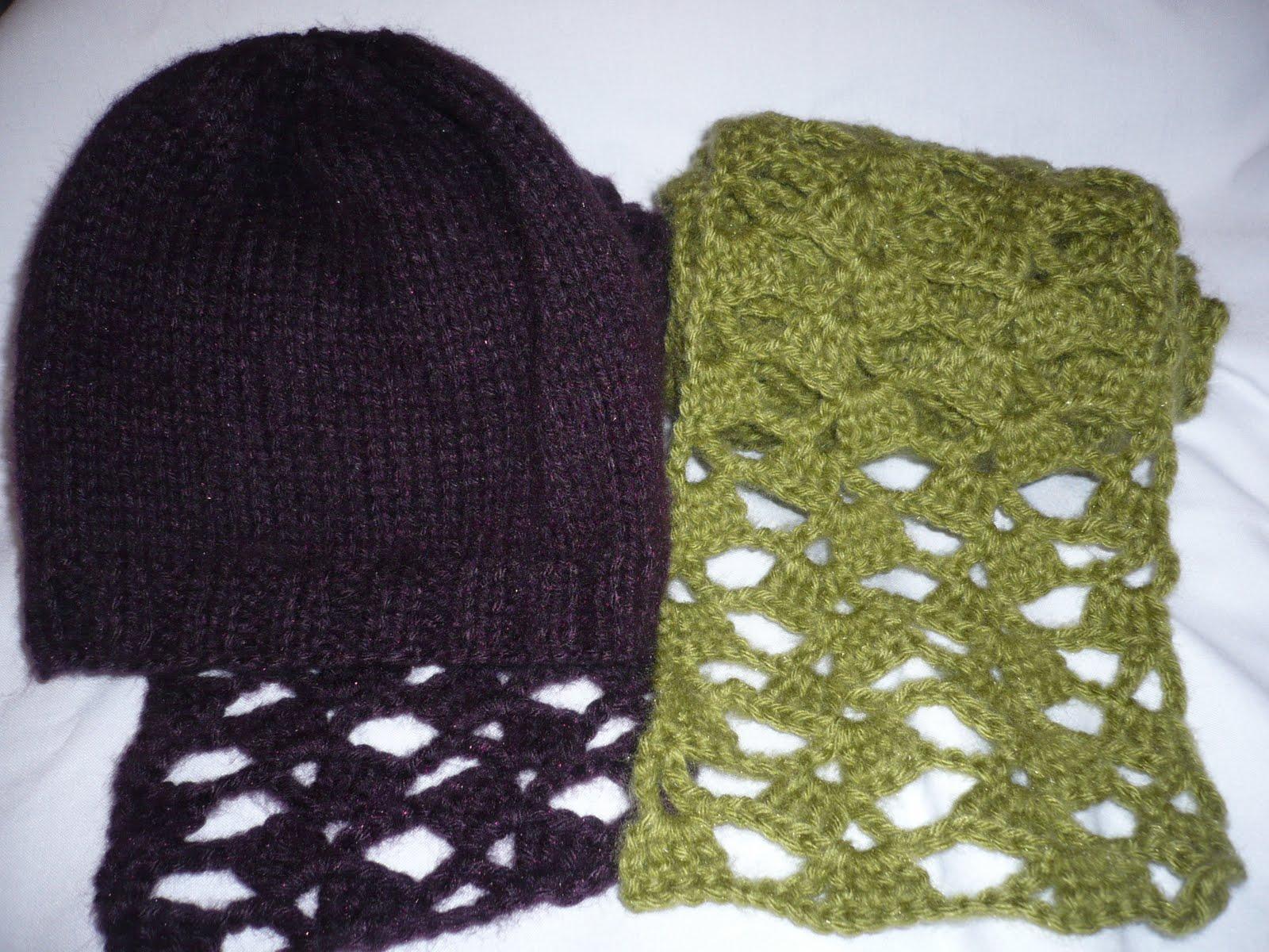 3fefe199f9627 Tejyarte  Bufanda y pantuflas a crochet