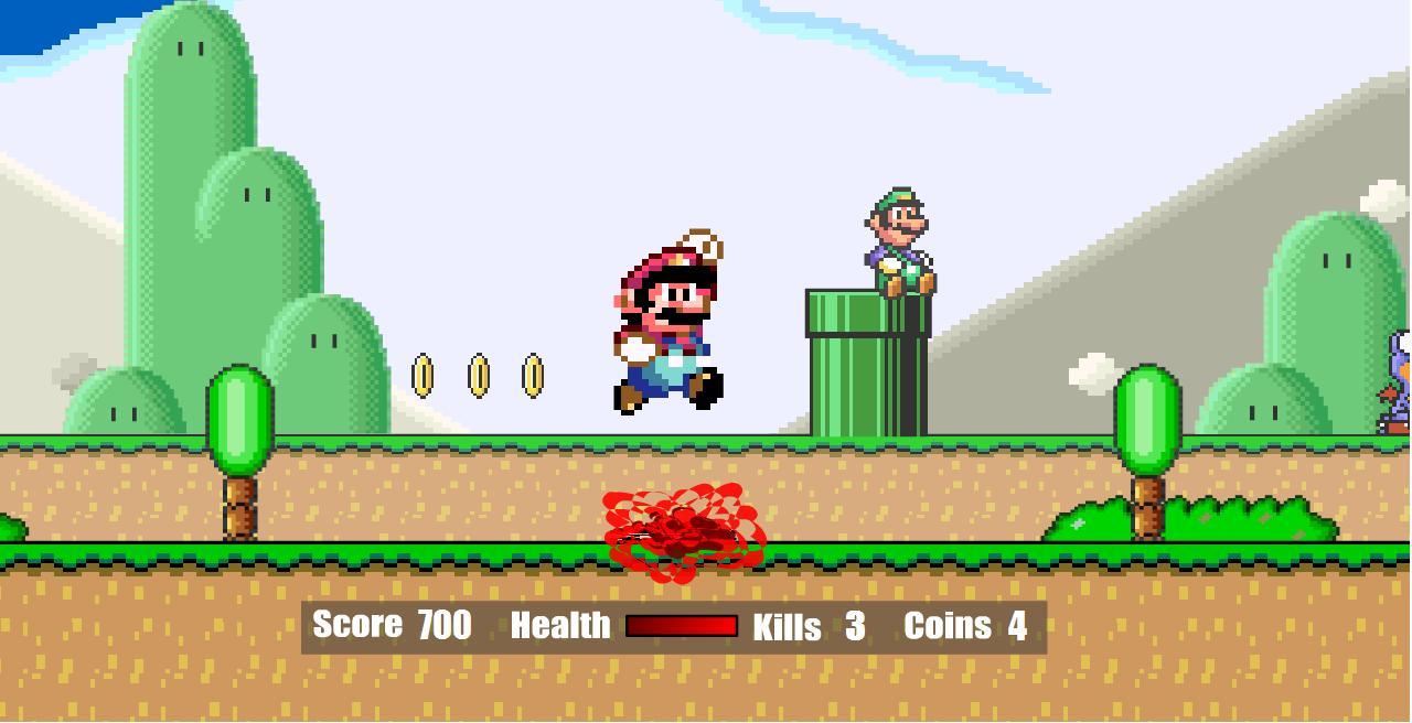 LEVEL UP: Super Mario Flash