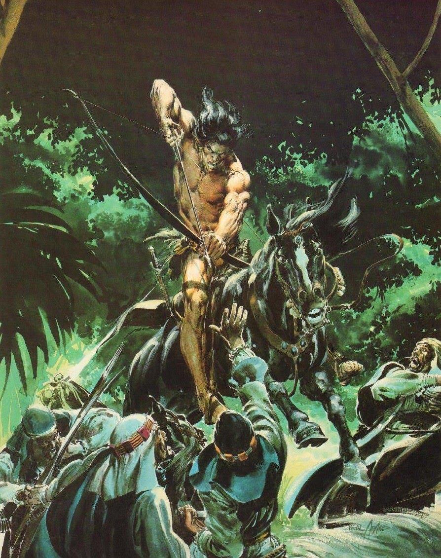Cap'n's Comics: Tarzan By Neal Adams