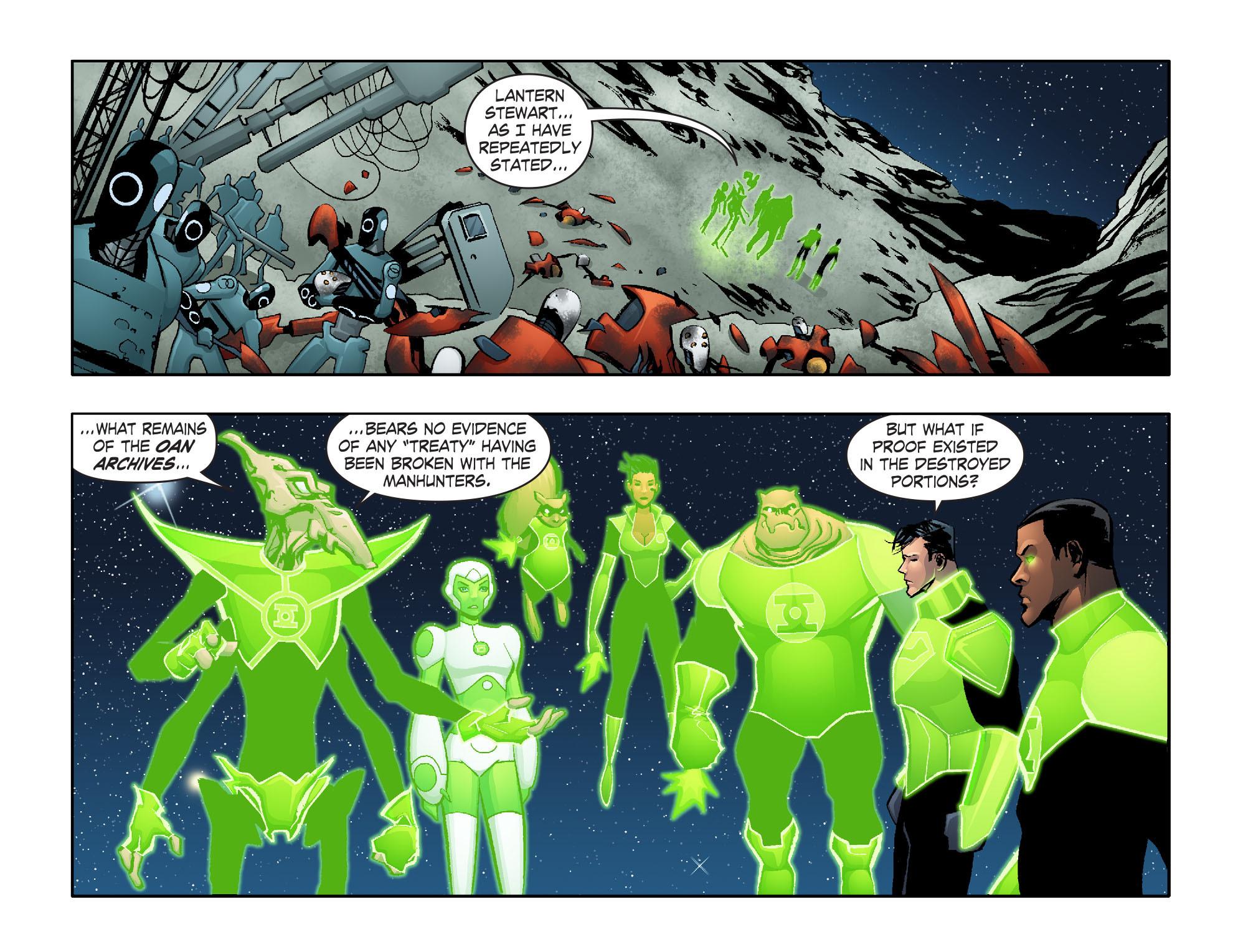 Read online Smallville: Lantern [I] comic -  Issue #6 - 3