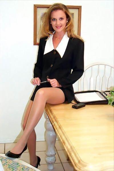 Mature tight skirt