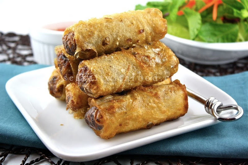 Seasaltwithfood: Vietnamese Spring Rolls-Cha Gio Vietnamese Fried Spring Rolls Recipe