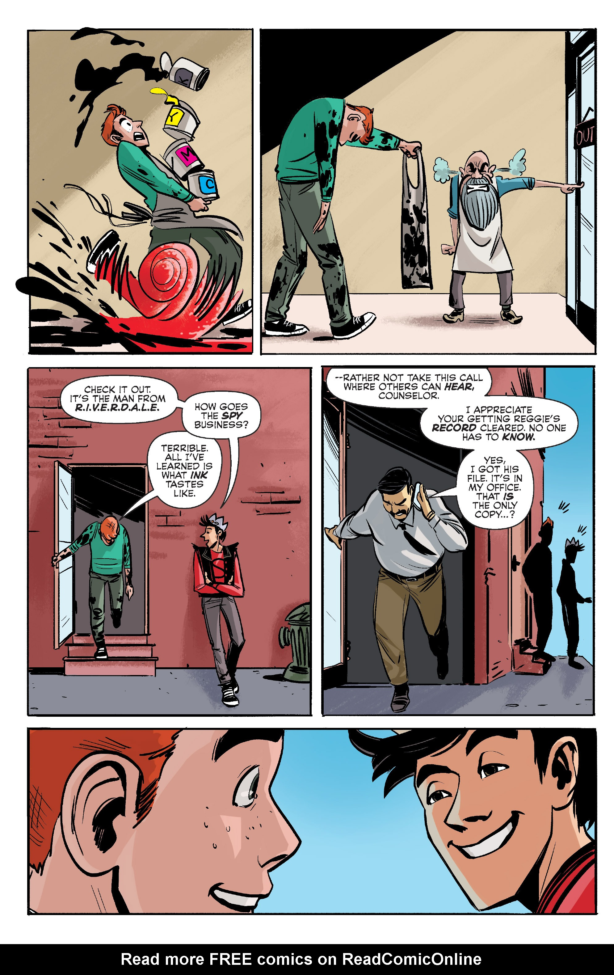 Read online Archie (2015) comic -  Issue #7 - 15