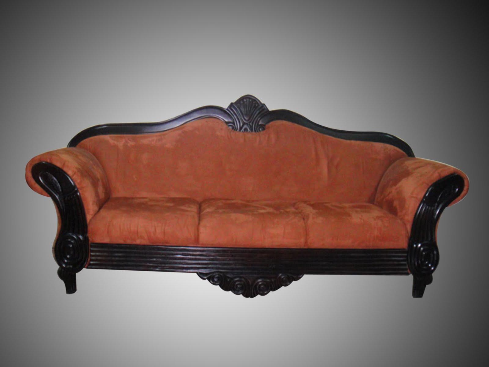 Muebles Clasicos Sofa Dormitorio Color Blanco De Estilo
