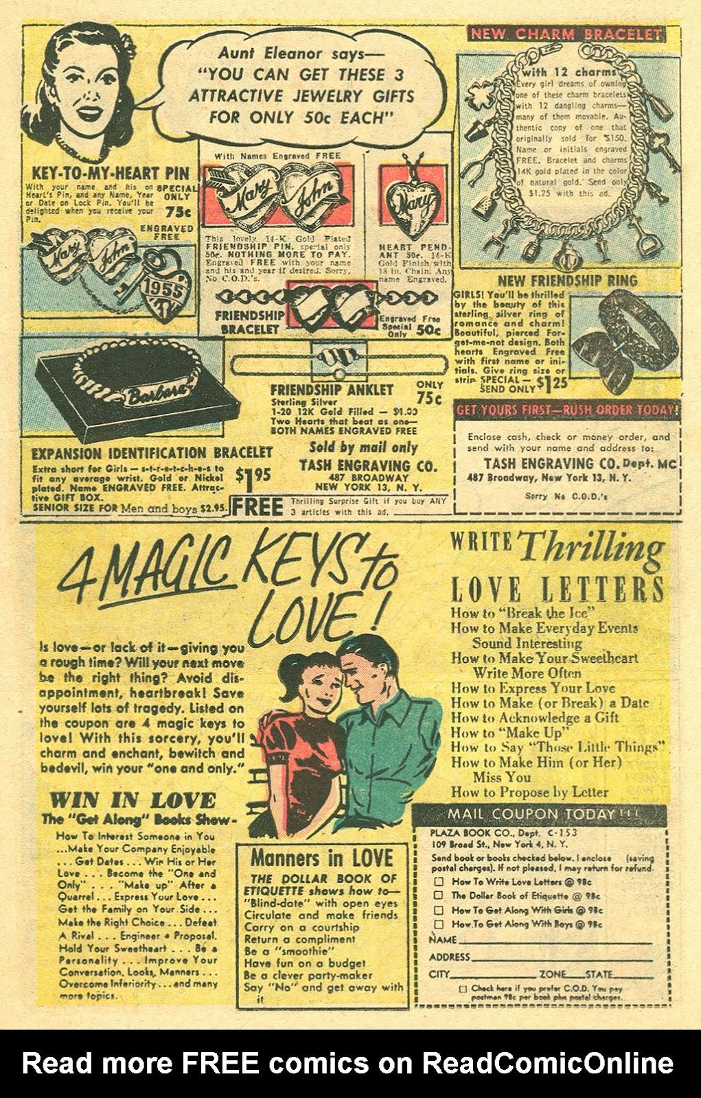 Love Romances (1949) issue 48 - Page 19