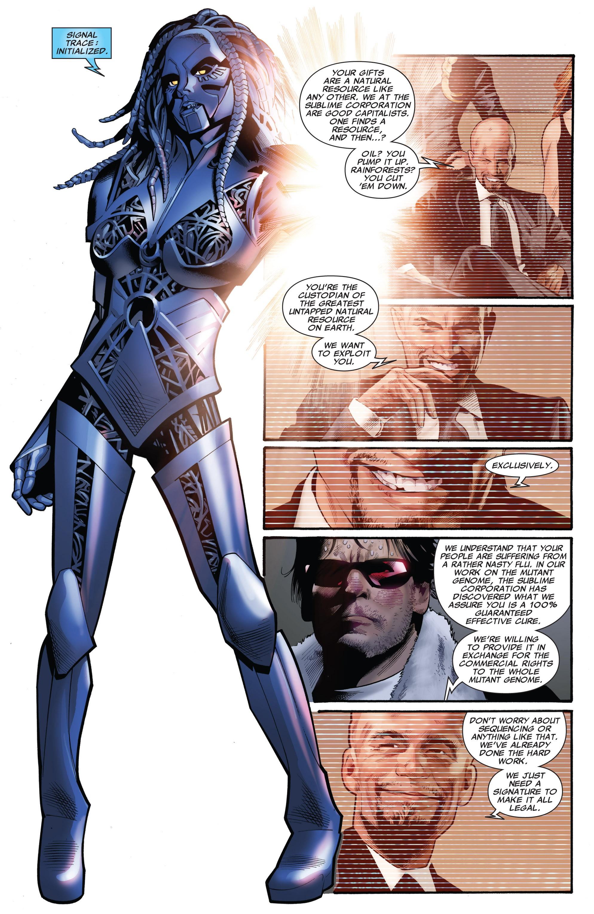 Read online Uncanny X-Men (1963) comic -  Issue #532 - 18
