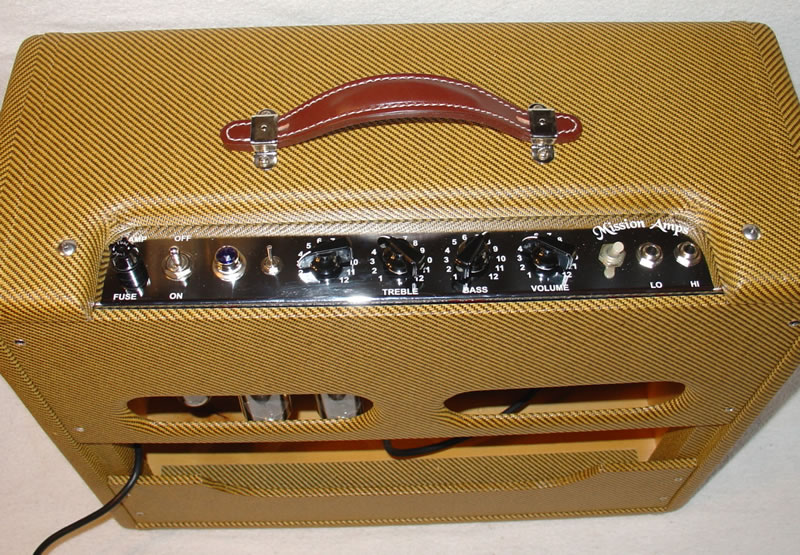 Blues Harp Amps: From Mission Amps: