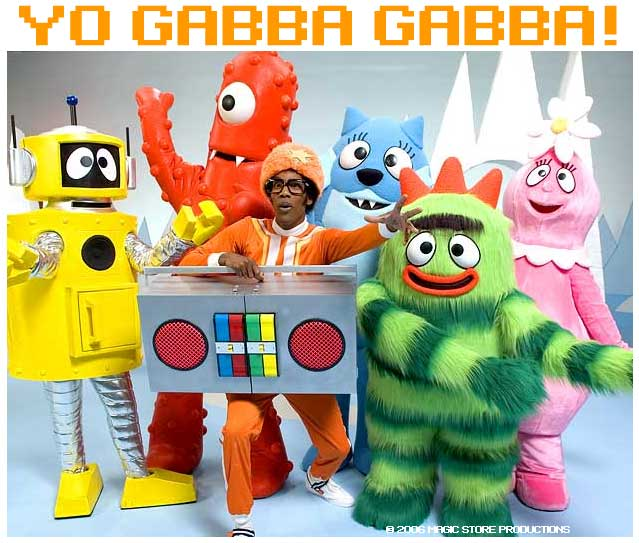Yo Gabba Gabba Birthday Cake Images