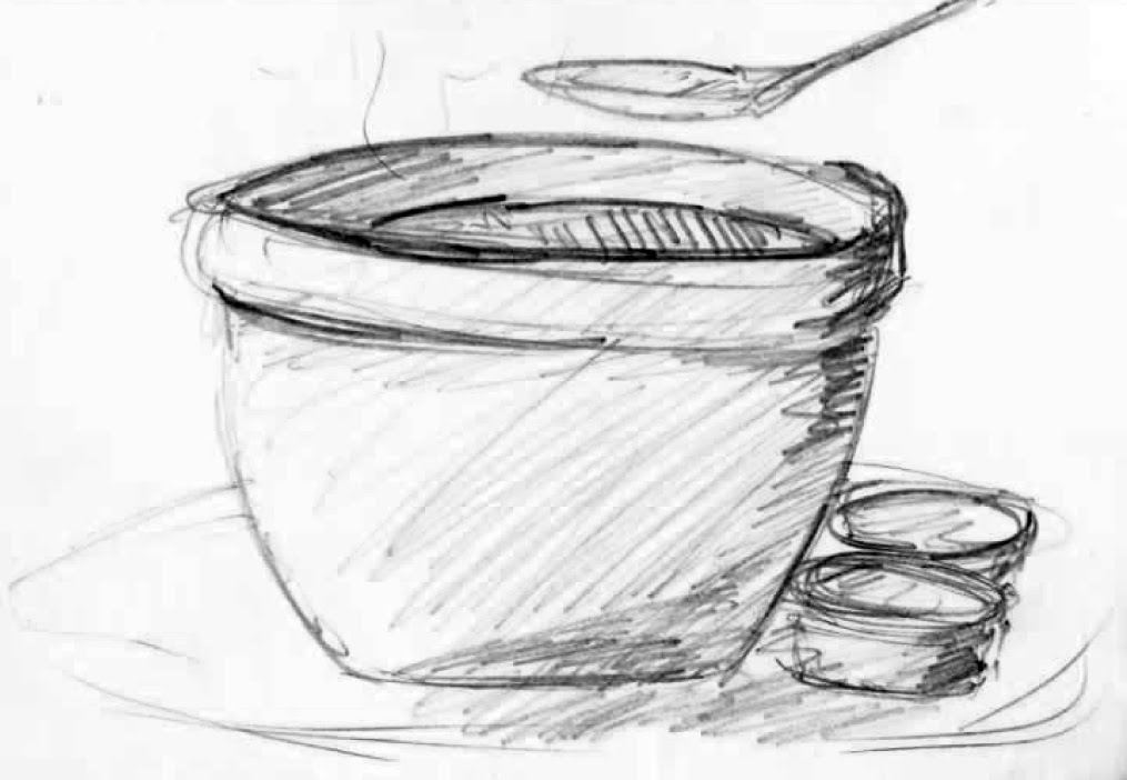 Soup Can Drawing Cowie...