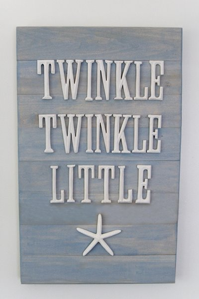 Twinkle Twinkle Little Starfish (10 Summer Seashell Decor Ideas)   #decor #decorating #seashells #beach #summer #sea