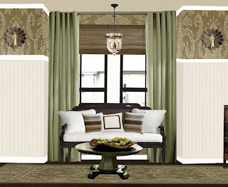 Tichenor Master Bedroom Sitting Room | The Lettered Cottage
