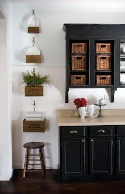 Lettered Cottage Kitchen Paint Color