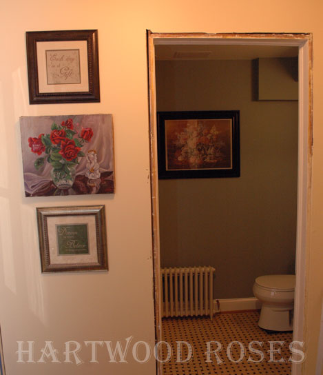 Hartwood Roses: Basement Bathroom Renovation ... The Big