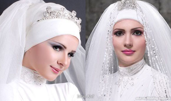 .muslimchicsfashionmanuscript.: Muslim Wedding Veils By