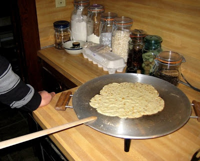 lefse frying