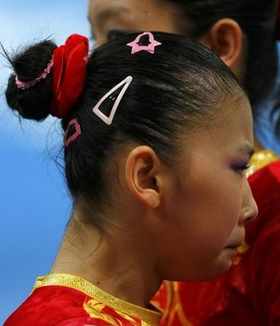 In Pictures Bad Gymnastics Hair Huffpost