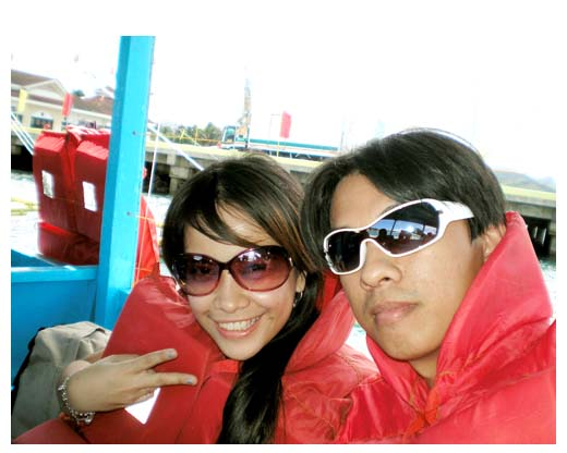 couple, bora, boracay, pump, boat